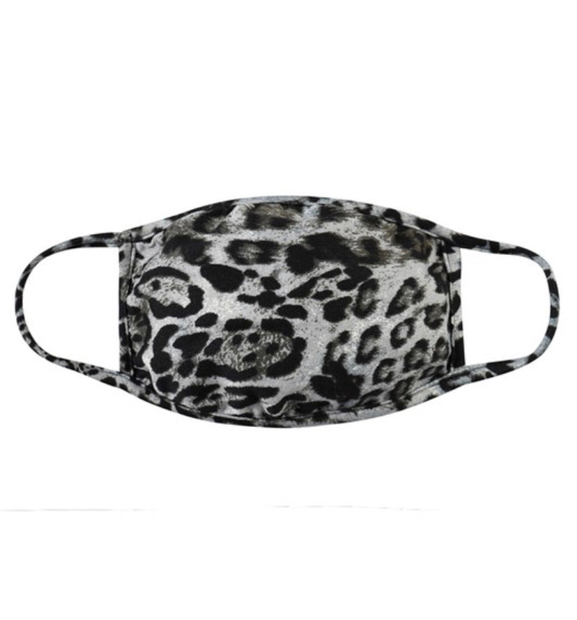 Leopard  Face Masks