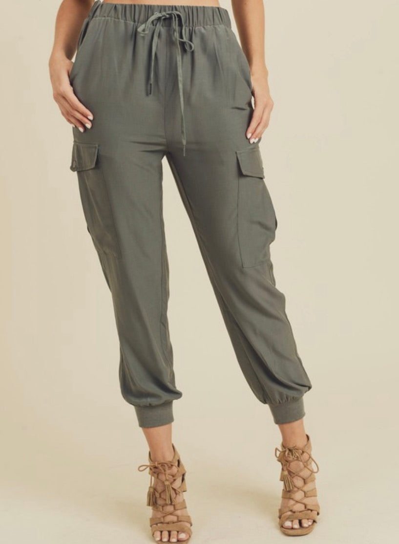 Cargo Joggers with Pockets
