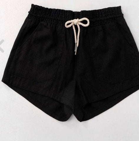 Linen Rope Shorts