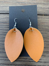 Load image into Gallery viewer, Double Sided Faux Leather Earrings