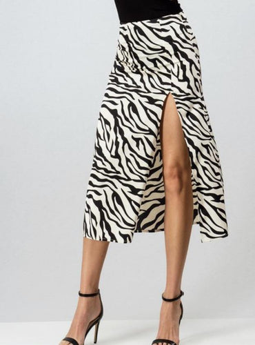 Animal Print Skirt - Dreambox Boutique LLC