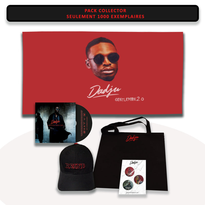 Coffret collector | Dadju Gentleman 2.0