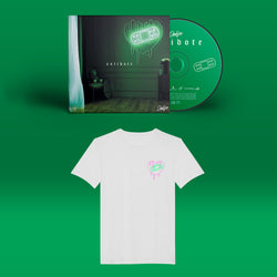 Pack I Antidote - CD + T-shirt Blanc