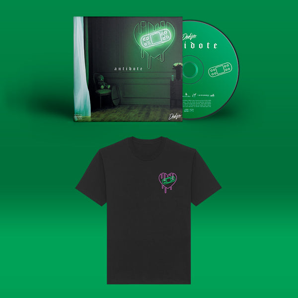 Pack I Antidote - CD + T-shirt Noir
