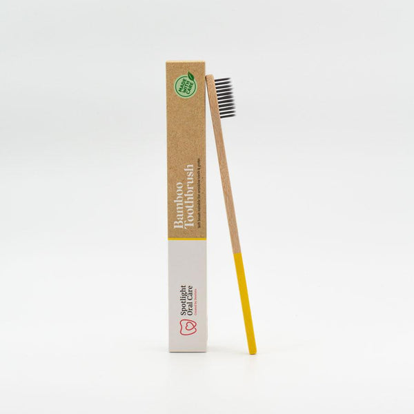 Yellow Bamboo Toothbrush