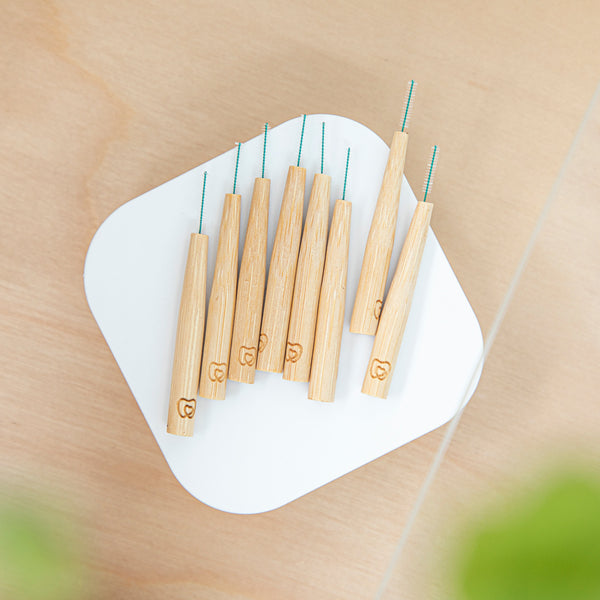 Interdental Bamboo Brushes