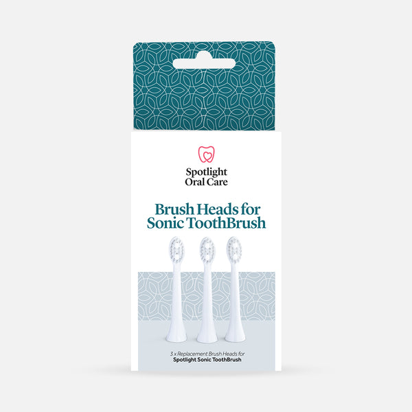 Sonic Toothbrush Replacement Heads