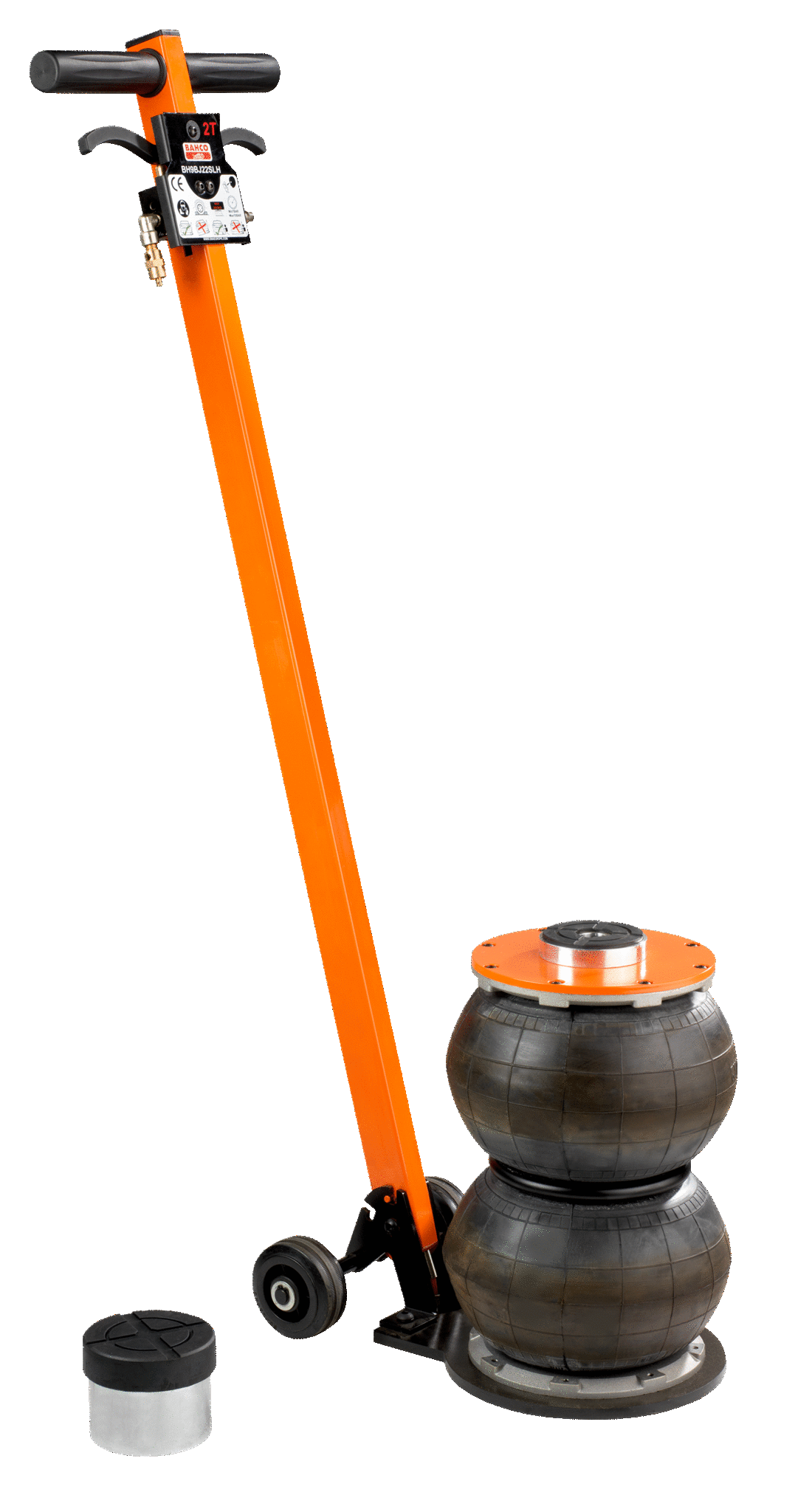 BAHCO 2-step balloon jack with long handle 2000kg