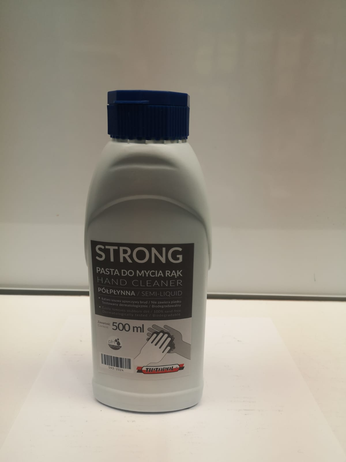 Strong hand cleaner semi liquid 500ml Tip-593-2024
