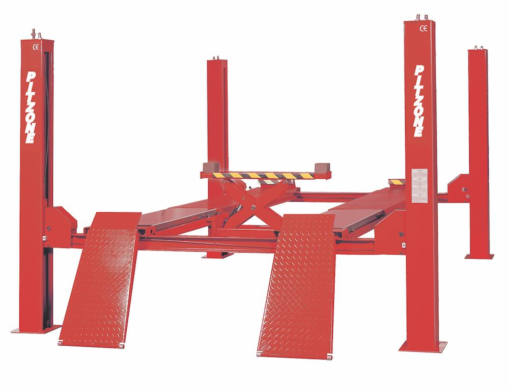 [PITZONE U-TFS55] Four Post Alignment Service Lift 5.5 Ton