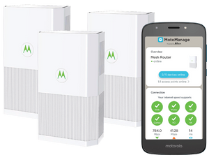 MH7023 | Whole Home WiFi System Router & 2 Satellites