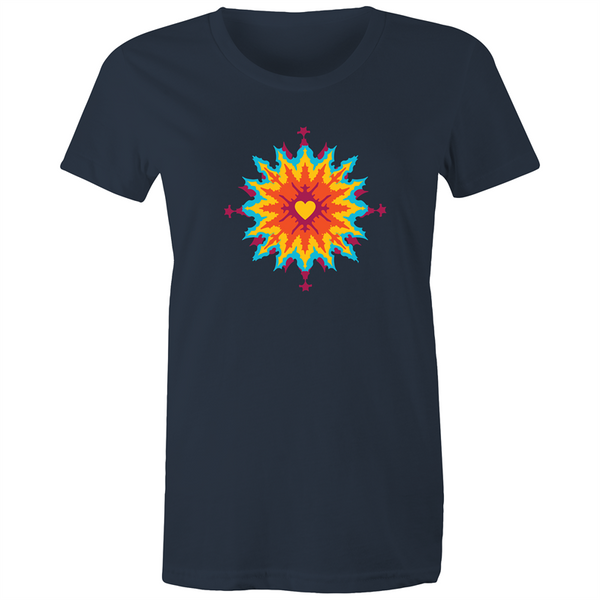 Dye Heart - Womens T-shirt