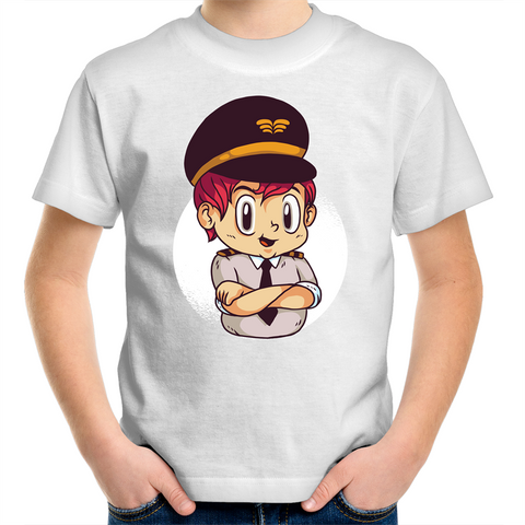 This is your Captain speaking - Kids Youth T-Shirt