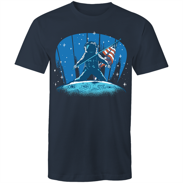 Moon Landing - Mens T-Shirt