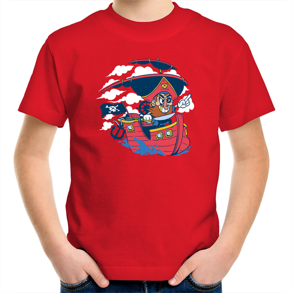 Pirate - Kids Youth T-Shirt