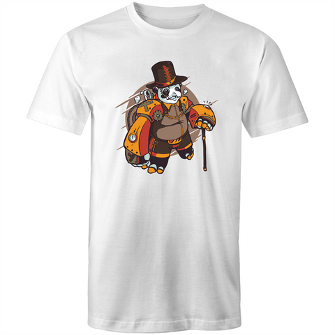 Steampunk Panda - Mens T-Shirt