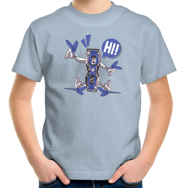 Friendly Quadcopter - Kids Youth T-Shirt