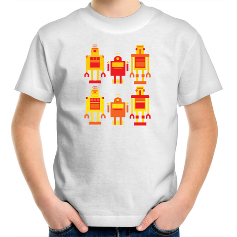 Robots - Kids Youth T-Shirt