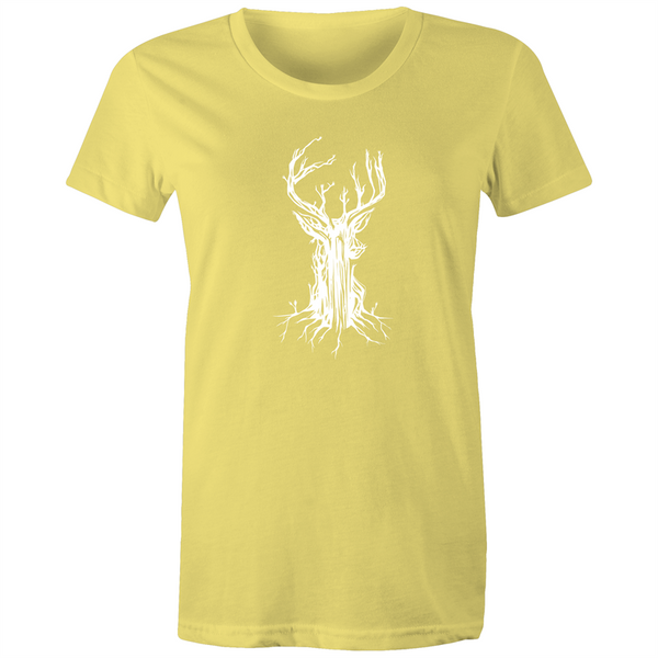 Deer Tree - Womens T-shirt
