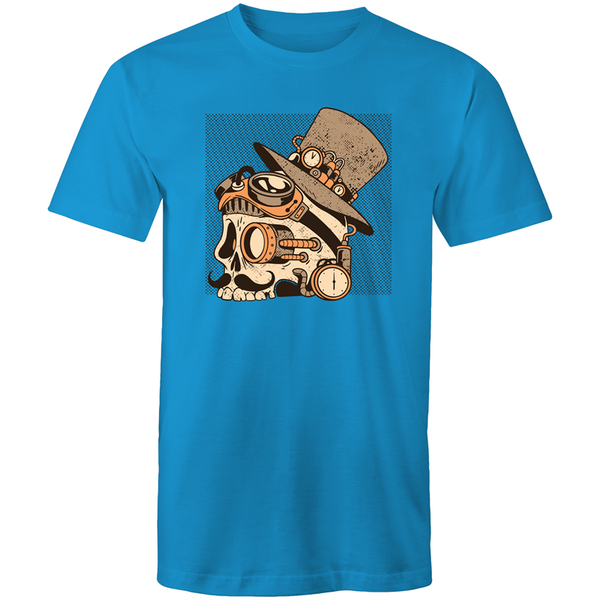 Steampunk Skull - Mens T-Shirt