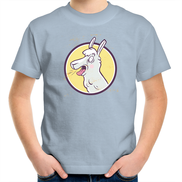 Crazy Llama - Kids Youth T-Shirt