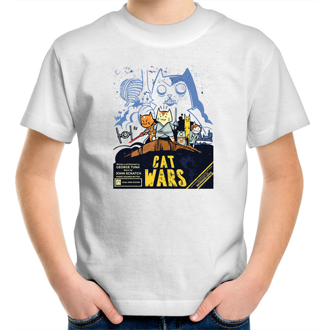 Cat Wars - Kids Youth T-Shirt
