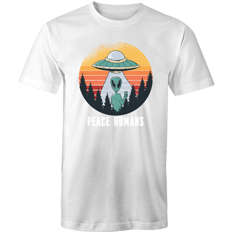 Peace Humans - Mens T-Shirt