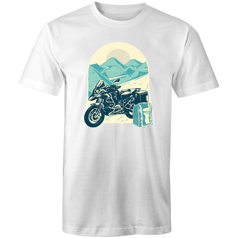 Motorcycle Art - Mens T-Shirt
