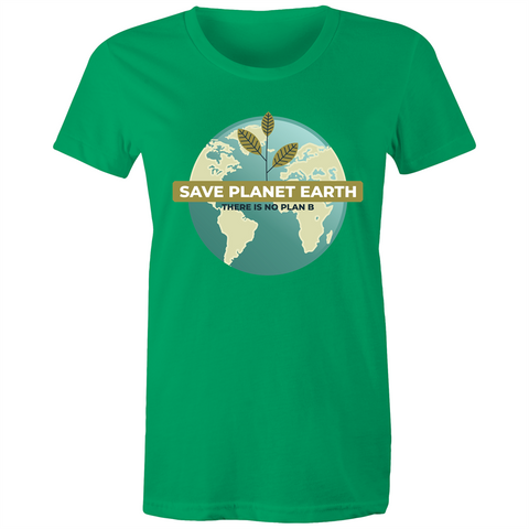 Save Planet Earth - Womens T-shirt