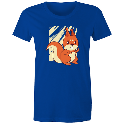 You made the squirrel angry - Womens T-shirt