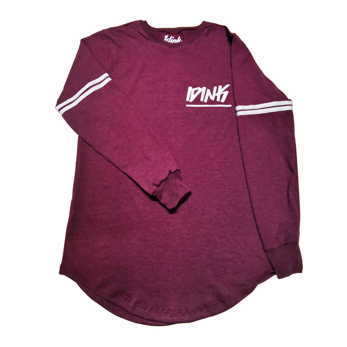 Playera Idink Long Fit Manga Larga Franjas
