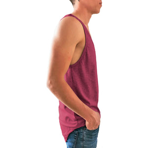 Tank top Long fit Idink Colores Jaspes