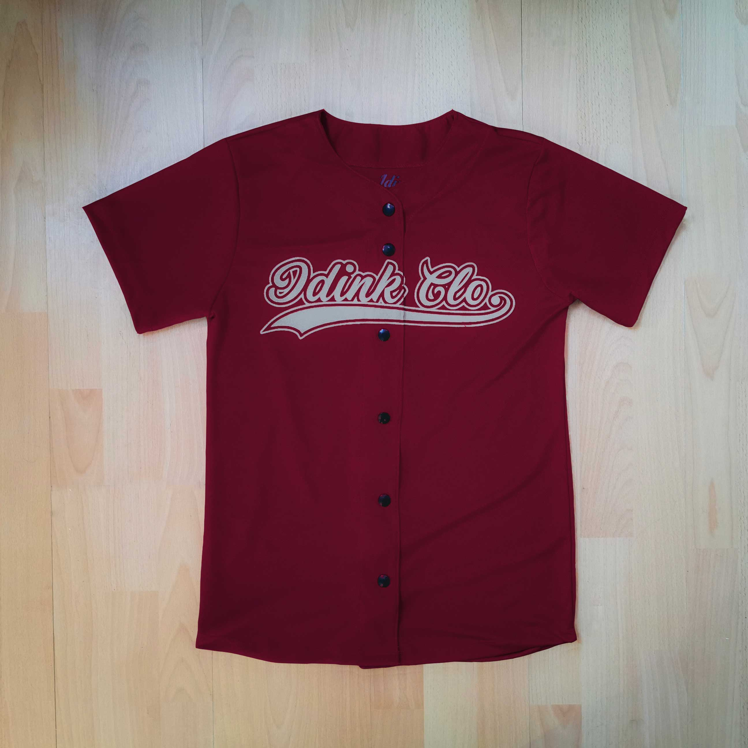 jersey beisbol tinto hombre personalizable tomateros