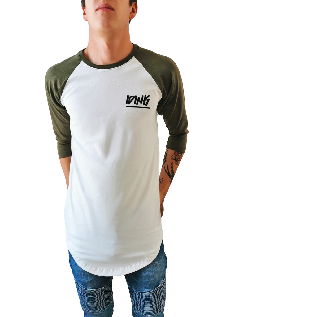 Playera Béisbolera Long Fit Swag Curva IDINK