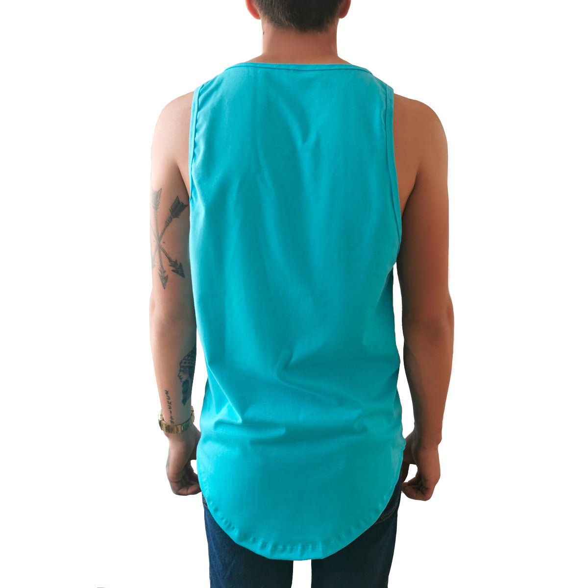 Tank top Long fit Hombre Idink