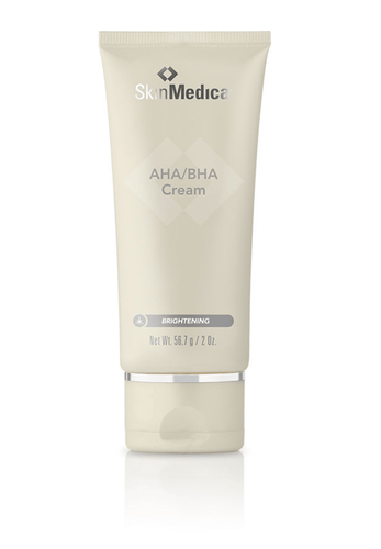DrFreund Skincare SkinMedica® AHA/BHA Cream (2.0 Oz.) for reduction of Fine Lines, wrinkles and Improved Skin Brightness