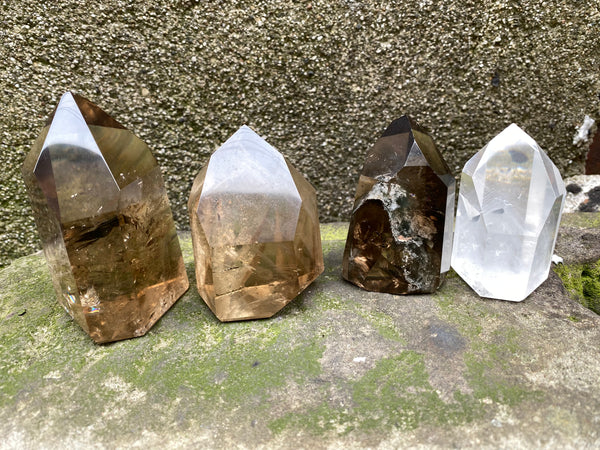 Natural Citrine + Inclusion Quartz—Wholesale