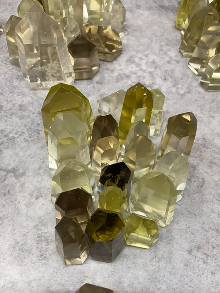 Lemon (Green Gold) Citrine--Wholesale