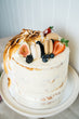 Semi Naked with Toasted Meringue and Seasonal Fruits