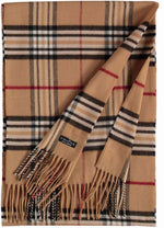 Load image into Gallery viewer, V Fraas Plaid Scarf