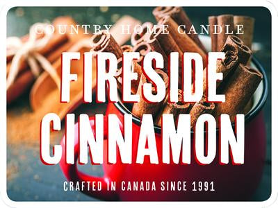 26oz Canister Jar Fireside Cinnamon