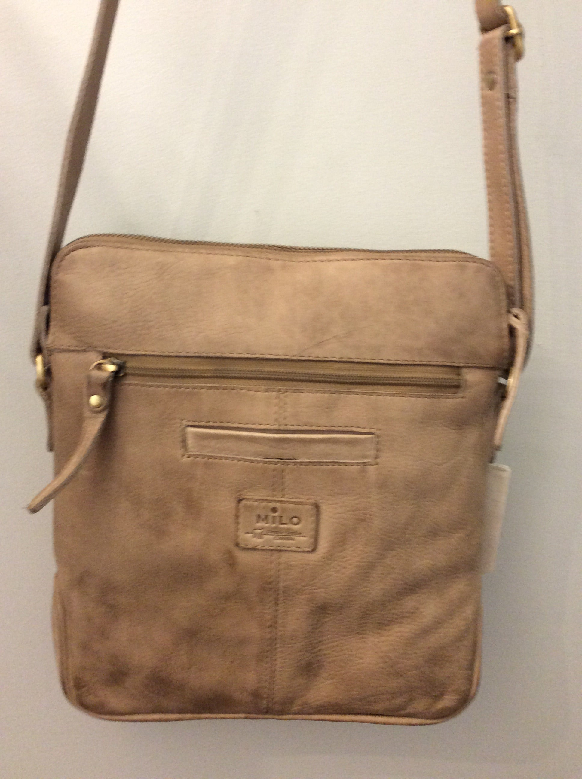 Mia Crossbody Leather Handbag