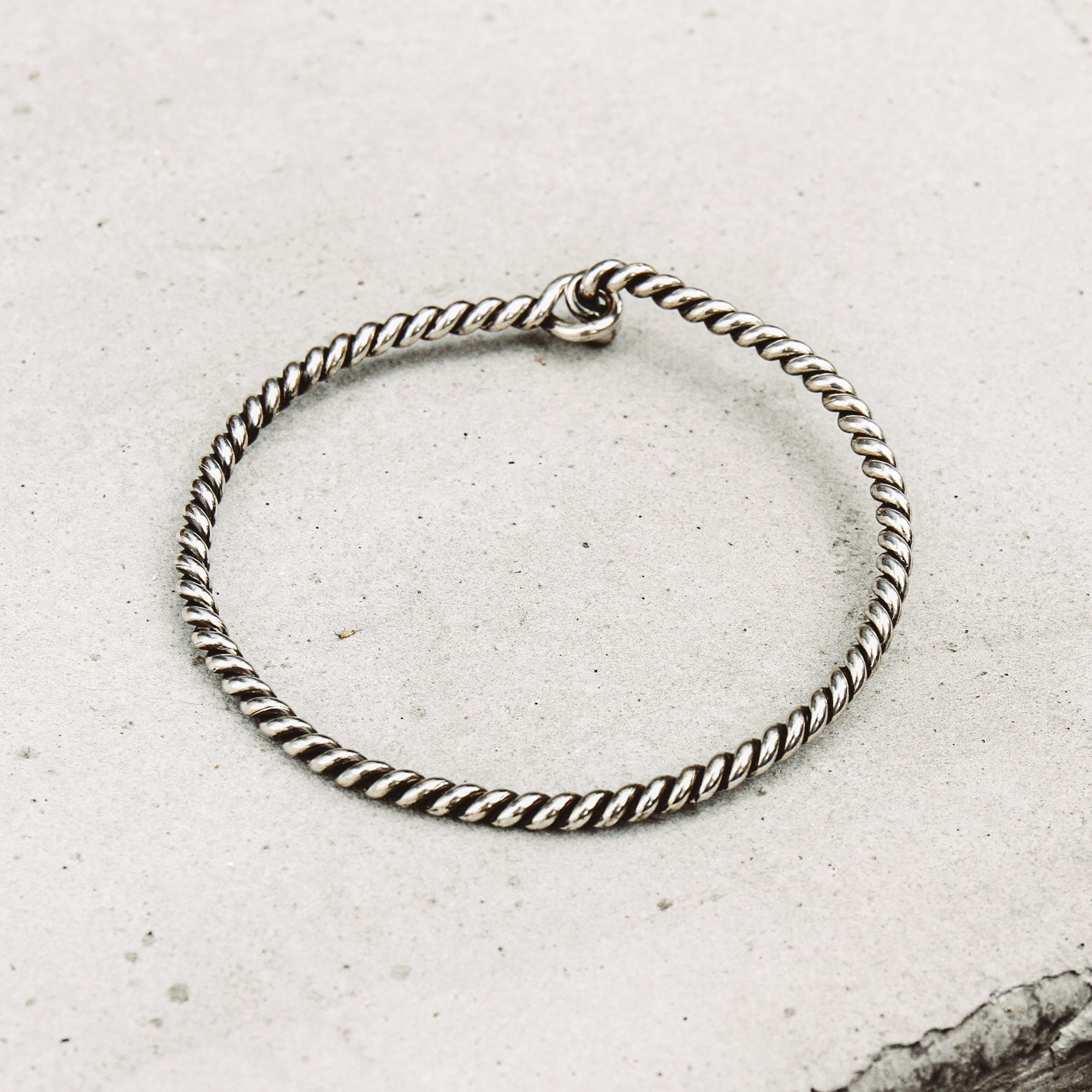 TWISTED | Twisted Rope Cuff Bracelet
