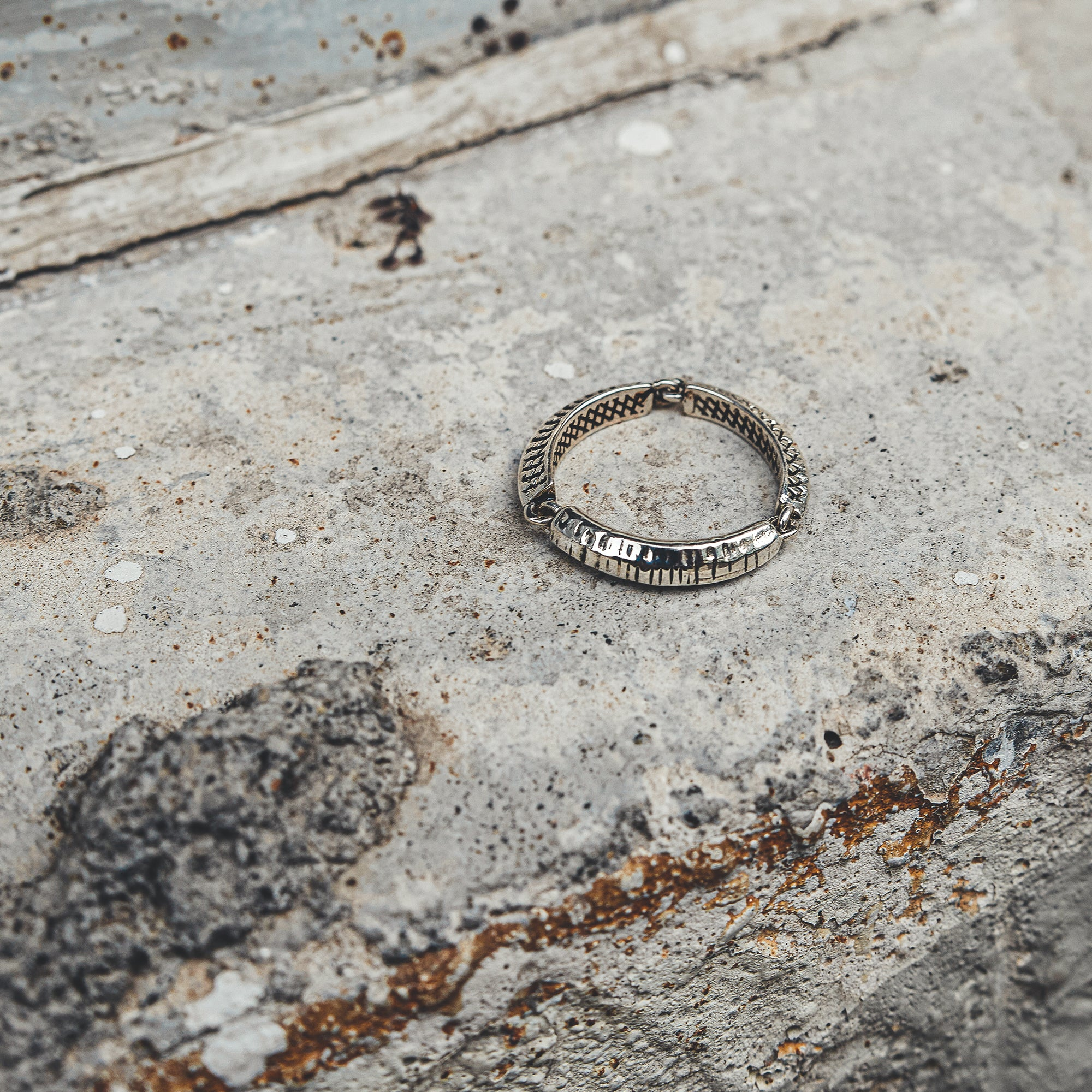 RESTORE | 3-Part Ring with In and Out Textures