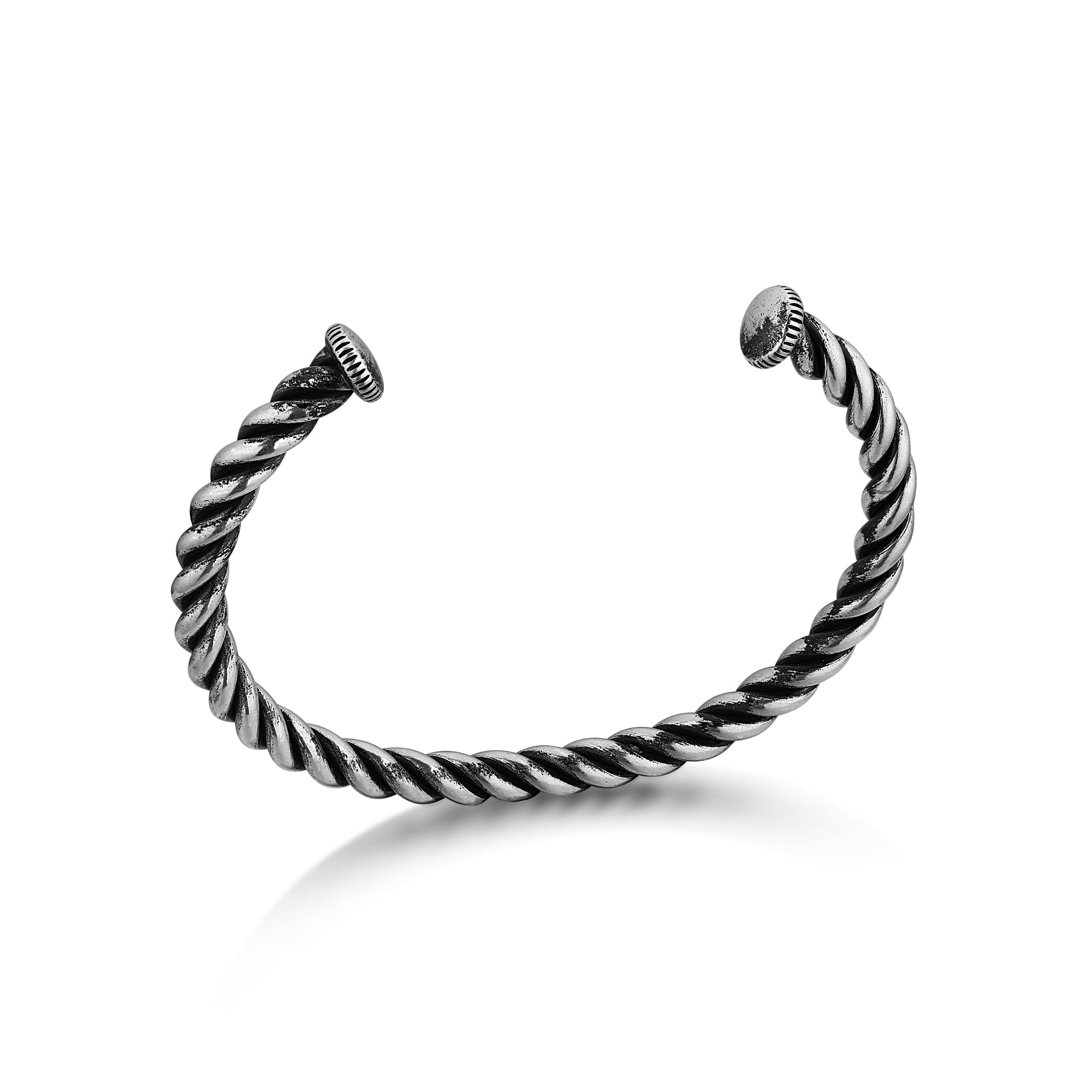 Twisted Rope Cuff Bracelet