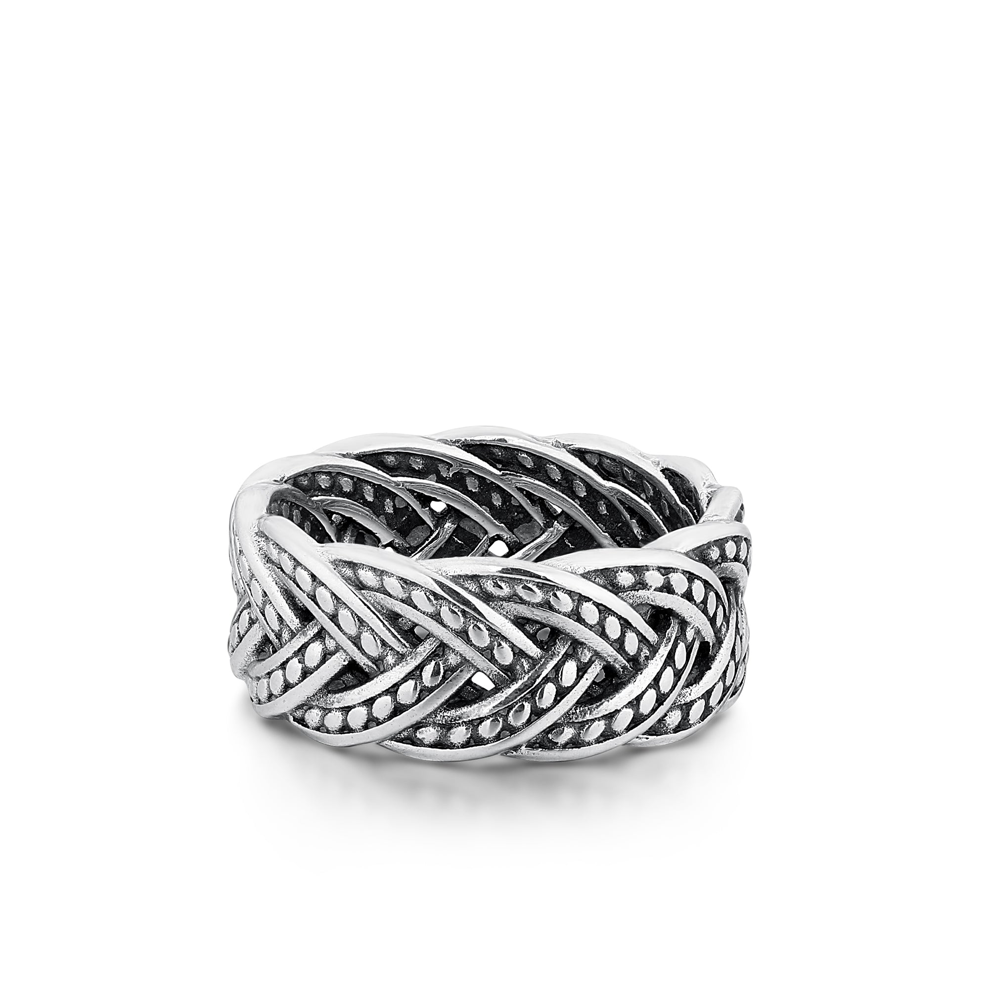 Braided Rope Wide Band