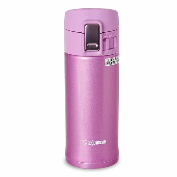 Zojirushi Stainless Steel Vacuum Insulated Bottle, 0.36L, Lilac (SM-KB36-VJ)