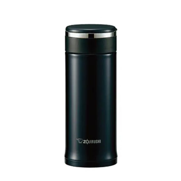 Zojirushi Stainless Steel Tuff Mug Bottle, 0.36L,  Black (SM-JD36-BA)