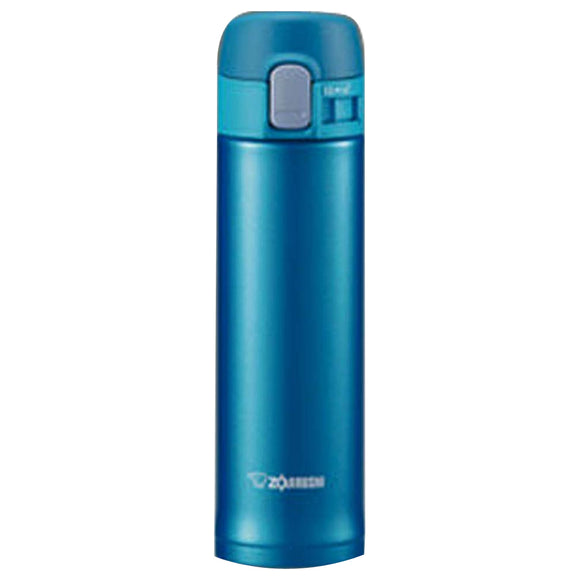 Zojirushi Stainless Steel Vacuum Bottle, 340ml, Marine Blue (SM-PB34-AM)