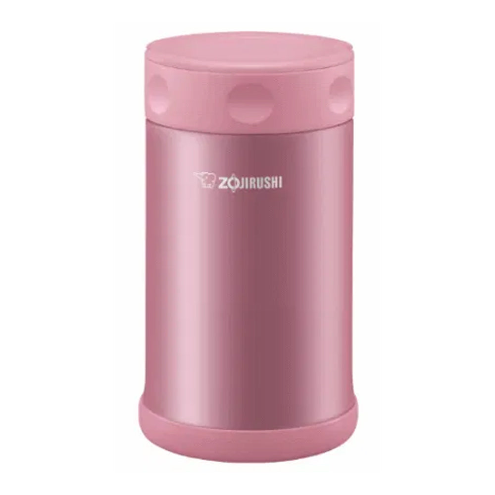 Zojirushi Stainless Steel Vacuum Insulated Food Jar, 0.75L, Soft Pink (SW-FCE75-PS)